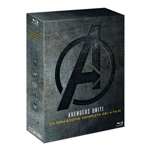 Avengers - Collezione 4 Film - Blu-Ray - MediaWorld.it
