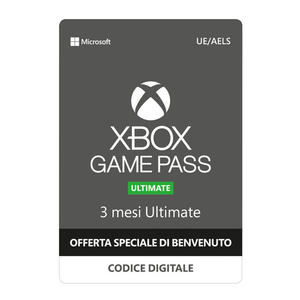 MICROSOFT XBOX Game Pass Ultimate 3 mesi ESD - MediaWorld.it
