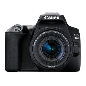 CANON EOS 250D BLACK + EF-S 18-55 IS STM BLACK - MediaWorld.it