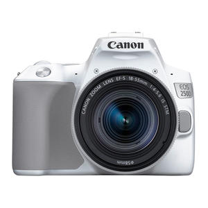 CANON EOS 250D WHITE + EF-S 18-55 IS STM WHITE - MediaWorld.it