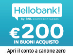 Apri un conto Hello Bank