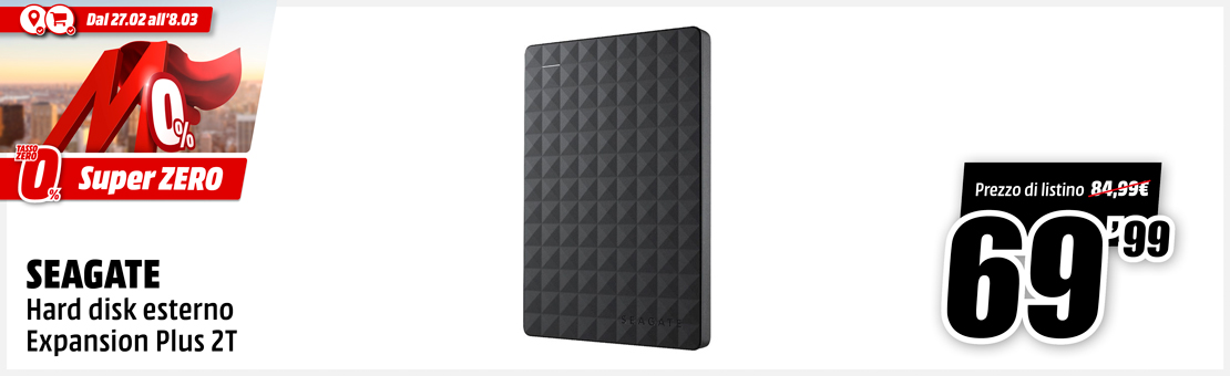 SEAGATE EXPANSION PLUS 2TB