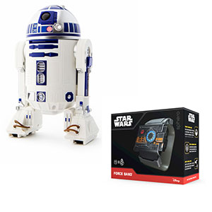 null SPHERO R2D2 + Force Band BB-8 Black su Mediaworld.it