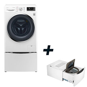 LG TwinWash F4J8JH2WD + LG Mini Wash F8K5XN3 - MediaWorld.it