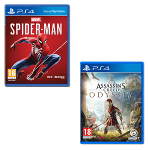 Assassin's Creed Odyssey + Marvel's Spider-Man - PS4