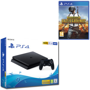 SONY PS4 500GB F Chassis Black + PlayerUnknown's Battlegrounds - PS4 - MediaWorld.it