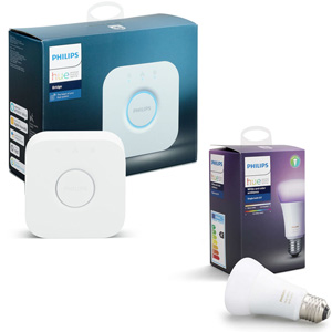 Hue Bridge + Hue Ambiance Lampadina E27 10W - MediaWorld.it