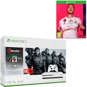 MICROSOFT Xbox One S 1TB + Gears 5 + FIFA 20 - MediaWorld.it