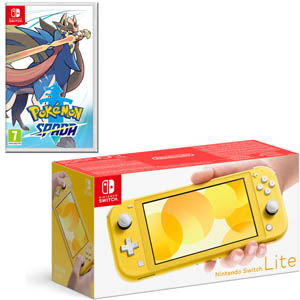 NINTENDO SWITCH LITE GIALLO + NINTENDO Pokémon Spada - NSW - MediaWorld.it
