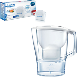 BRITA Aluna White MX+ + BRITA Maxtra + Pack 3 - MediaWorld.it