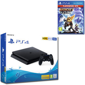 SONY PS4 500GB F Chassis Black + Ratchet & Clank (PS Hits) - PS4 - MediaWorld.it
