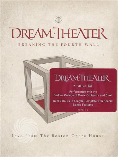 Dream Theater - Dream Theater - Breaking the fourth wall - DVD - thumb - MediaWorld.it