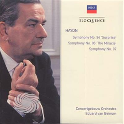 Van Beinum/Concertgebouw Orchestra - Haydn: Syms 94 96 & 97 - CD - thumb - MediaWorld.it