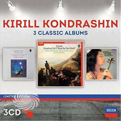 Kondrashin,Kirill - Kyril Kondrashin: Three Classic Albums - CD - thumb - MediaWorld.it