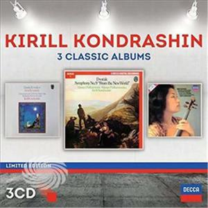 Kondrashin,Kirill - Kyril Kondrashin: Three Classic Albums - CD - MediaWorld.it