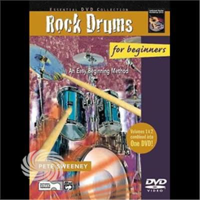Rock Drums For Beginners-Rock Drums - DVD - thumb - MediaWorld.it
