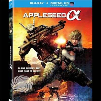 Blu- Appleseed: Alpha / (Uvdc)-Appleseed - Blu-Ray - thumb - MediaWorld.it