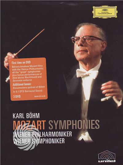 Karl Bohm - Mozart Symphonies - DVD - thumb - MediaWorld.it