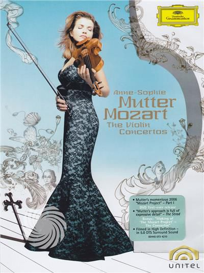 Anne-Sophie Mutter, Camerata Salzburg - Anne-Sophie Mutter - Mozart: the violin concertos - DVD - thumb - MediaWorld.it