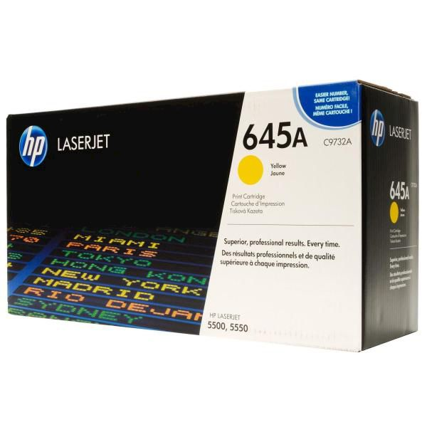 HP Toner 645A Giallo - thumb - MediaWorld.it