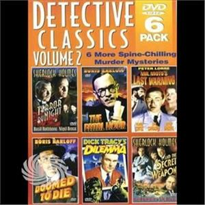 Detective Classics 2 (6pc)-Detectiv - DVD - thumb - MediaWorld.it