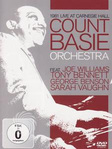 Count Basie Orchestra - 1981 live at Carnegie Hall - DVD - thumb - MediaWorld.it