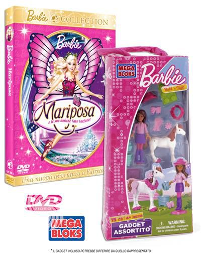 Barbie - Mariposa e le sue amiche Fate Farfalle - DVD - thumb - MediaWorld.it