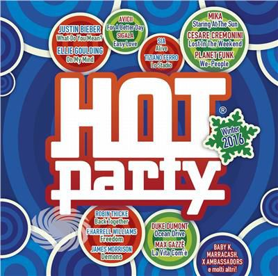 V/A - Hot Party Winter 2016 - CD - thumb - MediaWorld.it