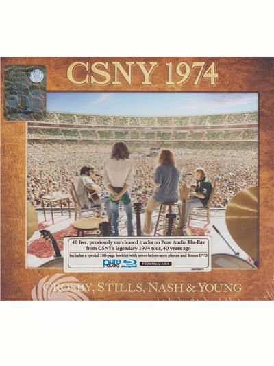 Crosby Stills Nash & Young - Crosby/Stills/Nash - CSNY 1974 - Blu-ray - thumb - MediaWorld.it