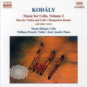 Kodaly,Z. - Music For Cello Vol. 2 - CD - thumb - MediaWorld.it