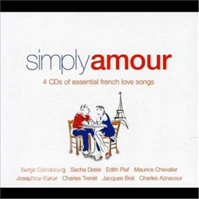 V/A - Simply Amour (French Love Songs) - CD - thumb - MediaWorld.it