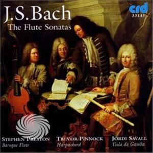 Preston,Stephen & Trevor Pinnock - Js Bach: The Flute Sonatas - CD - thumb - MediaWorld.it