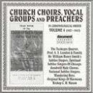 Church Choirs Vocal Groups - Vol. 4-Church Choirs Vocal Gro - CD - MediaWorld.it