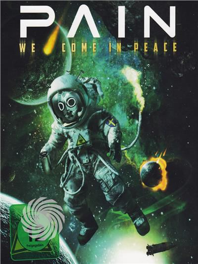 Pain, Rob Dukes - Pain - We come in peace - DVD - thumb - MediaWorld.it