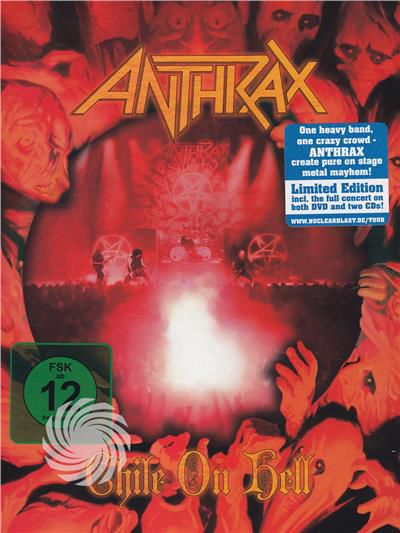 Anthrax - Anthrax - Chile on hell - DVD - thumb - MediaWorld.it