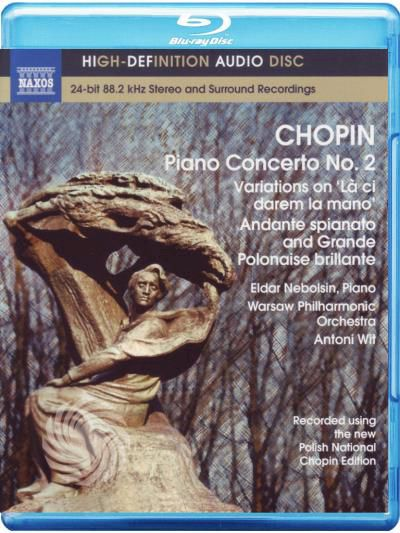 Chopin,F. - Fryderyk Chopin - Piano concerto n. 2 - Blu-ray - thumb - MediaWorld.it