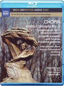 Chopin,F. - Fryderyk Chopin - Piano concerto n. 2 - Blu-ray - MediaWorld.it