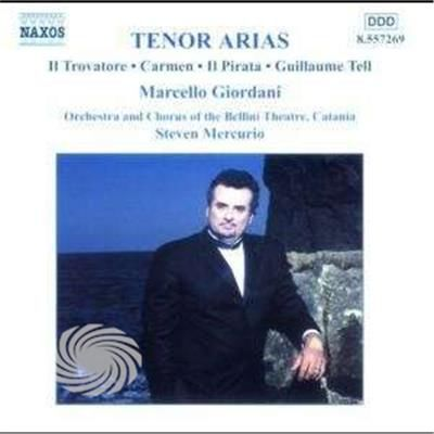 Giordani,Marcello - Sings Rossini/Donizetti/Bellini/Pacini/Bizet/& - CD - thumb - MediaWorld.it