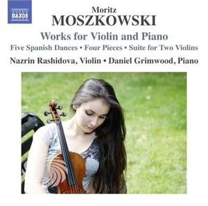 Moszkowski / Rashidova / Grimwood - Works For Violin & Piano - CD - thumb - MediaWorld.it