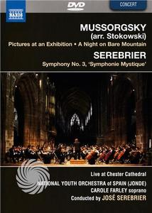MUSSORGSKY - PICTURES AT AN EXHIBITION / SEREBRIER - SYMPHONY N.3 - DVD - thumb - MediaWorld.it