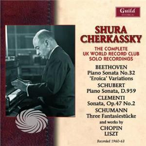 Beethoven/Chopin/Liszt - Shura Cherkassy-The Complete Uk World Record Club - CD - thumb - MediaWorld.it