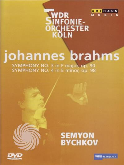 Johannes Brahms - Symphony n. 3 in F major, op. 90 - Symphony n. 4 in E minor, op. 98 - DVD - thumb - MediaWorld.it