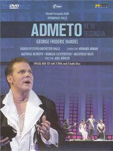 George Frideric Handel - Admeto Re di Tessaglia - DVD - thumb - MediaWorld.it