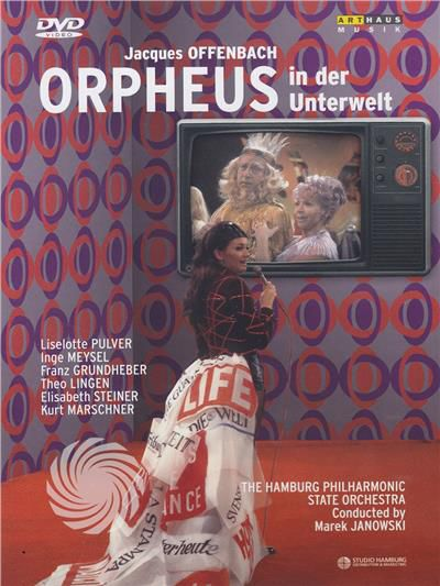 Jaques Offenbach - Orpheus in der Unterwelt - DVD - thumb - MediaWorld.it