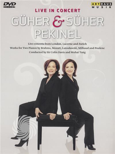Guher Pekinel, Suher Pekinel, Colin Davis, Muhai Tang, Stephanie Gonley, English Chamber Orchestra, Zurich Chamber Orchestra... - thumb - MediaWorld.it