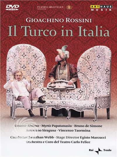 Gioachino Rossini - Il turco in Italia - DVD - thumb - MediaWorld.it