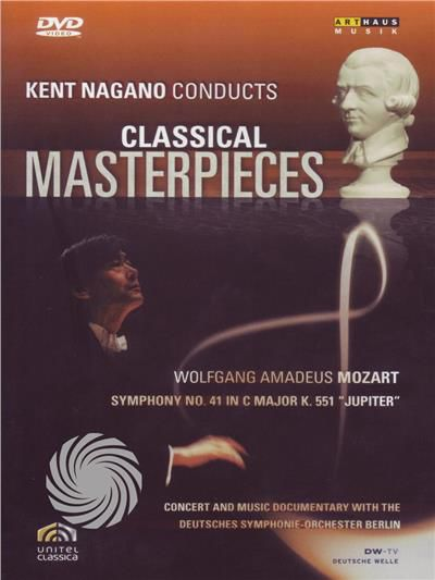 Kent Nagano conducts classical masterpieces - Wolfang Amadeus Mozart - DVD - thumb - MediaWorld.it