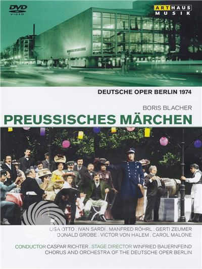 Boris Blacher - Preussisches märchen - Deutsche Oper Berlin - DVD - thumb - MediaWorld.it