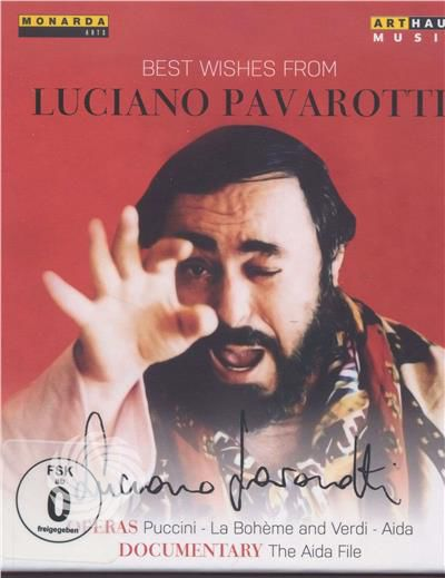 GIACOMO PUCCINI-LA BOHEME - BEST WISHES FROM PAVAROTTI, 80TH BIRTHDAY EDITION 2015 - DVD - thumb - MediaWorld.it