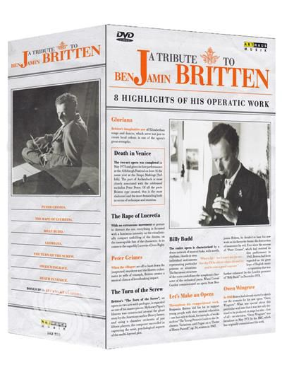 A tribute to Benjamin Britten - 8 highlights of his operatic work - DVD - thumb - MediaWorld.it